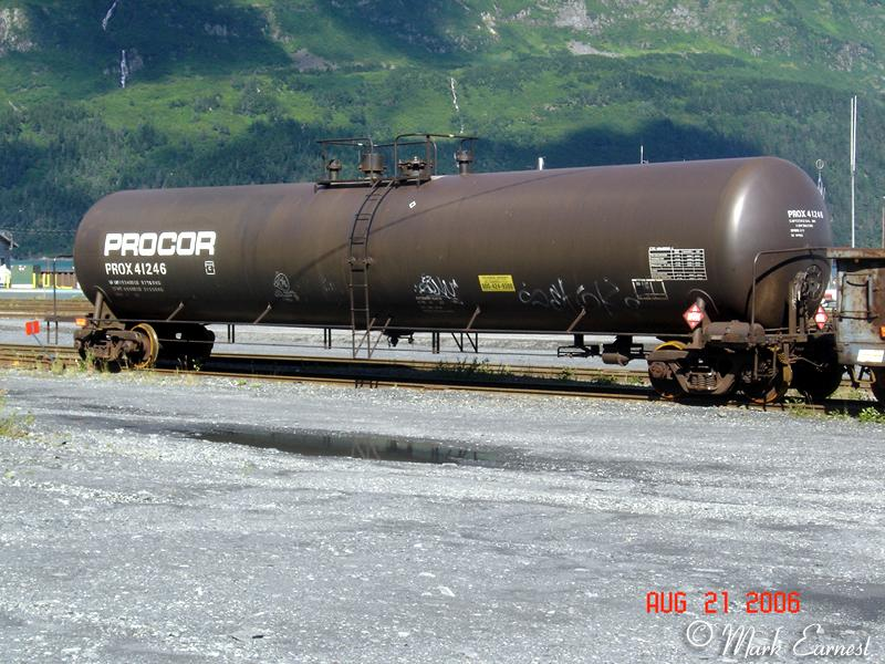 Other Roadnames On The Alaska Railroad Tank Cars