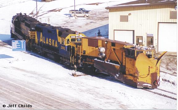 Snow Fighting On The Alaska Railroad