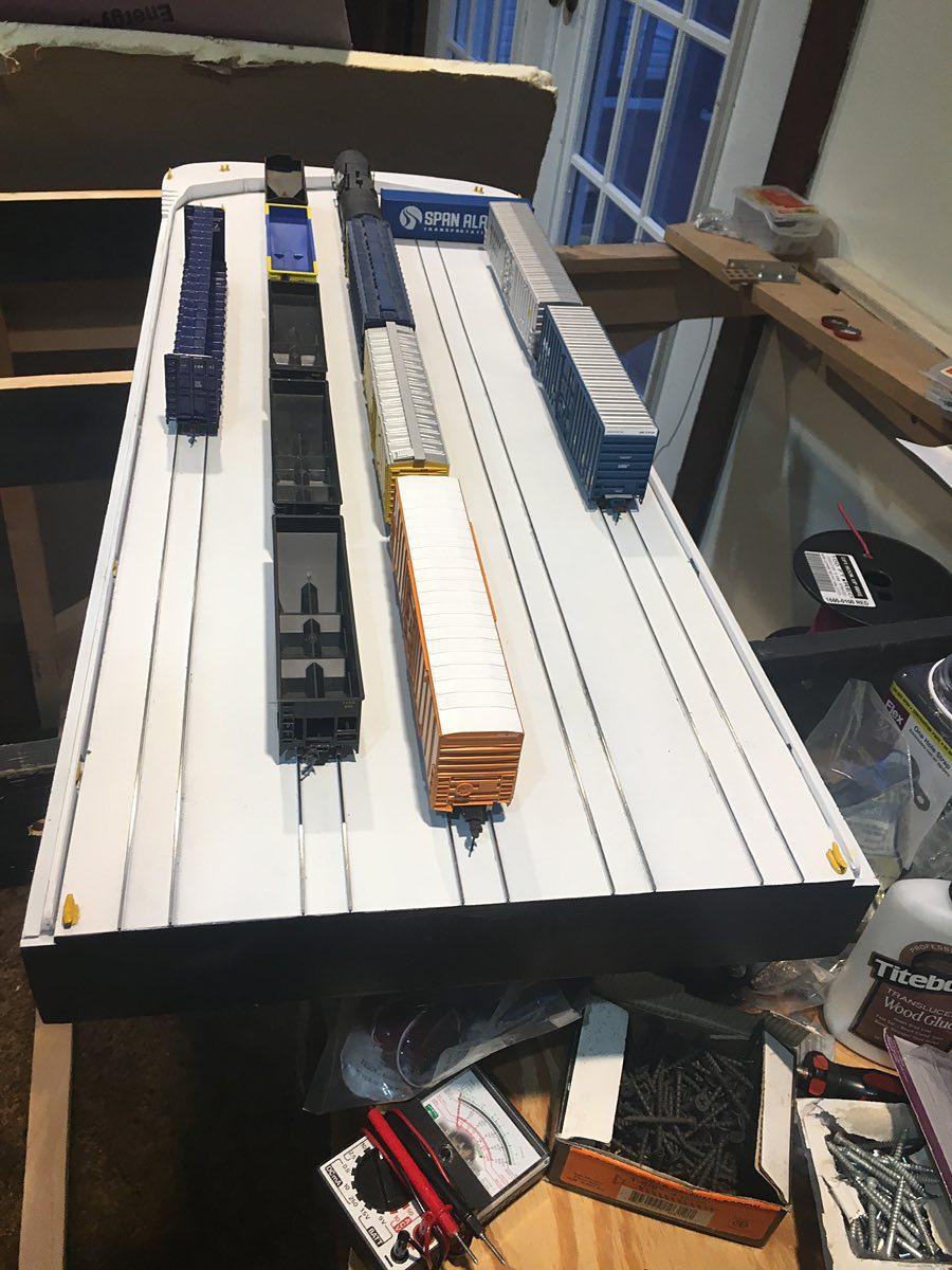 John's Alaska Railroad HO Scale Layout
