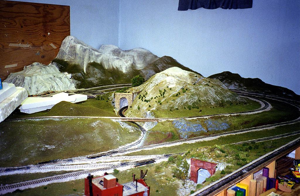 John Combs' Alaska Railroad HO Layout