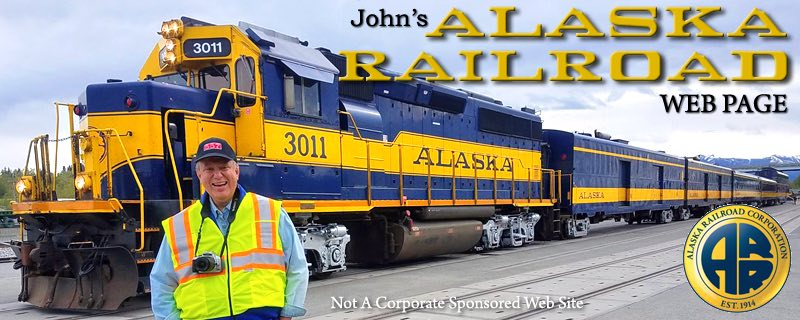 Welcome to John's Alaska Railroad Web Page!