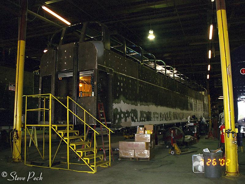 construction of holland america railcars crm construction