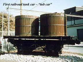 Freight And Passenger Cars Tank Cars