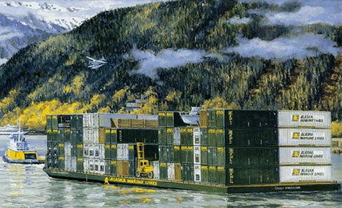 Alaska Railroad Industries Lynden Transport