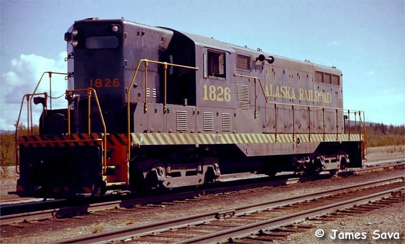 this gp7l was built for the us army as number 1826 builder number ...