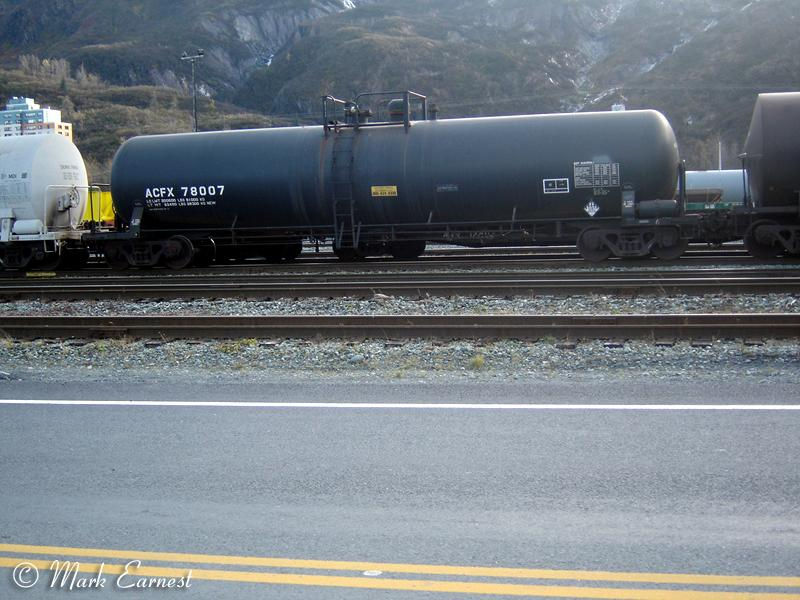 Other Roadnames On The Alaska Railroad Tank Cars