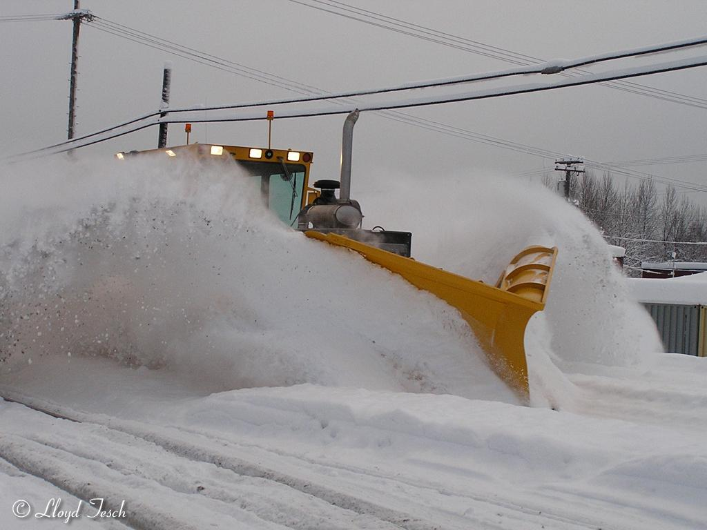 Snow Fighting On The Alaska Railroad