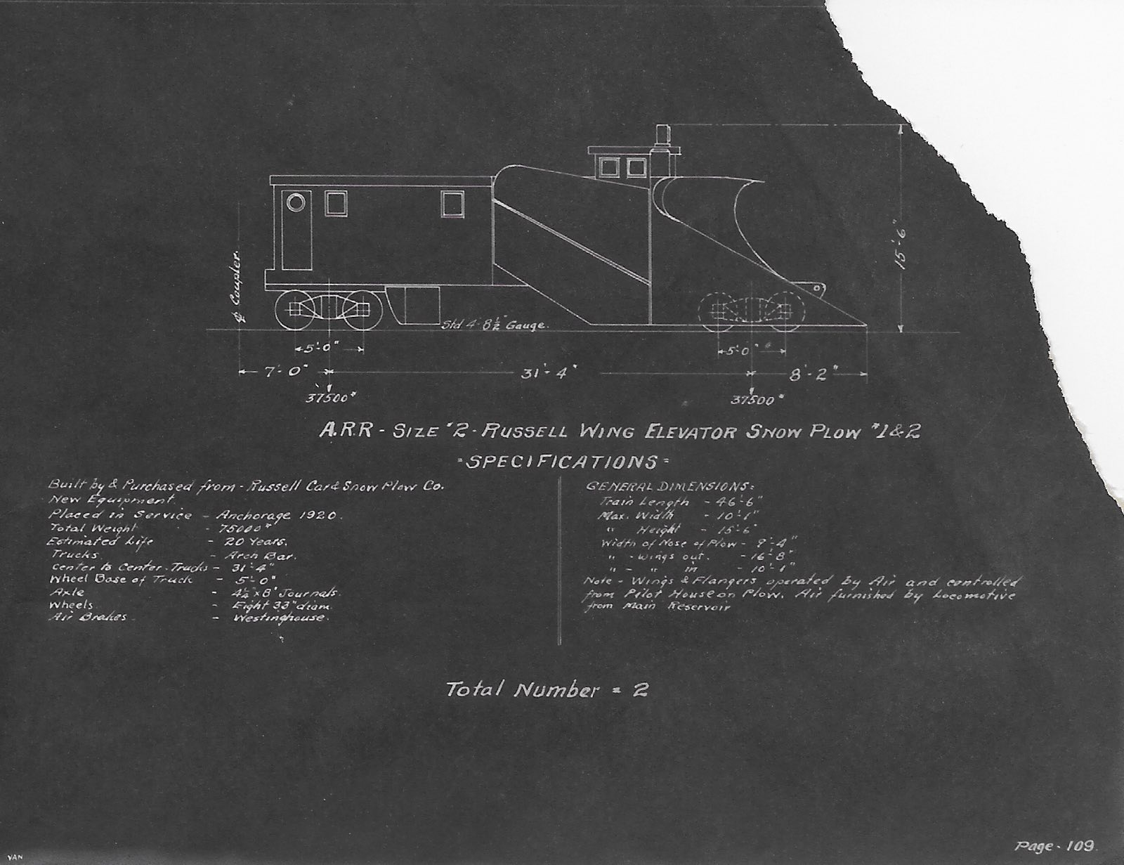 Snow Fighting On The Alaska Railroad Wiring Diagram For Stev More Photographs And Information